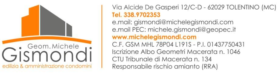 Studio tecnico Tolentino Michele Gismondi